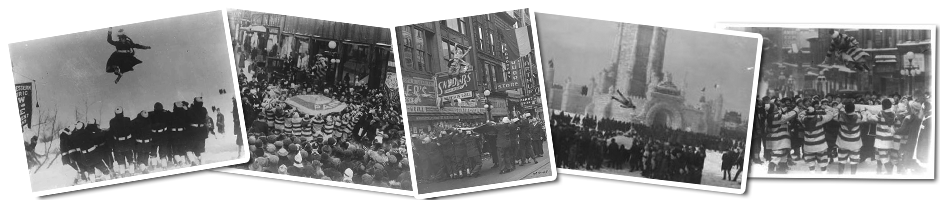 historical photos of the st paul bouncing team